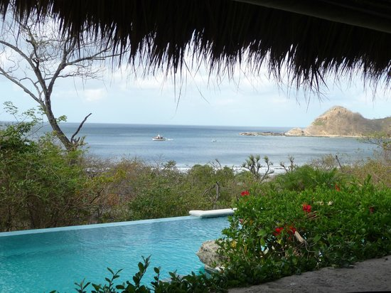 Morgan's Rock Hacienda and Ecolodge:                   Dining & pool view