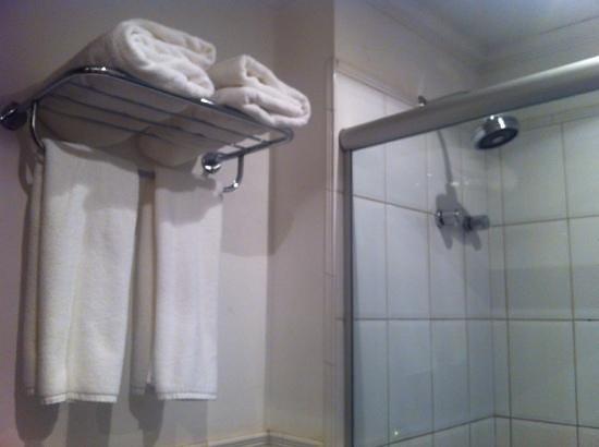 Plaza Inn Executive: banheiro