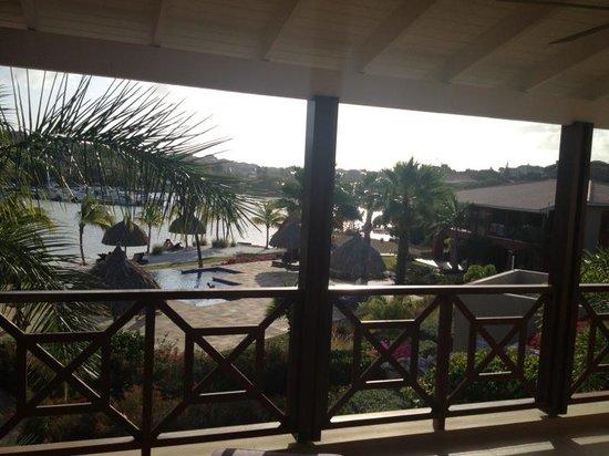 لا مايا بيتش: uitzicht vanuit de kamer