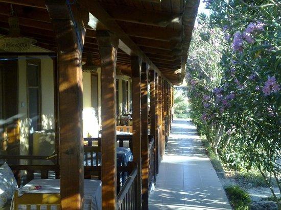 Dereli Motel:                   Zimmer mit offenen Terrassen