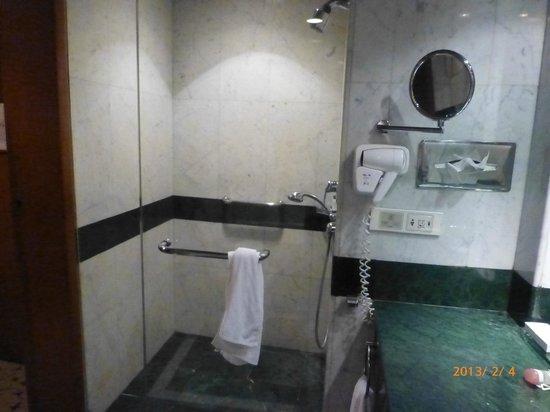 Landmark Bangkok:                   シャワーブース