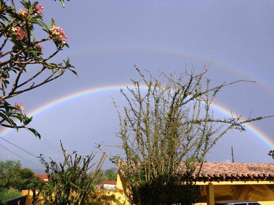 Pousada Aldeia: Arco iris em um dia de chuva