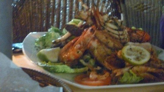La Lampara :                   Sea food platter