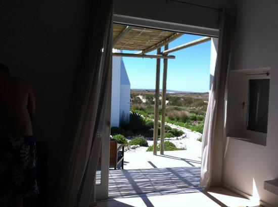 Strandloper Ocean Boutique Hotel: Uitzicht vanuit de Suite