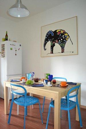 B&B La Galleria: cucina