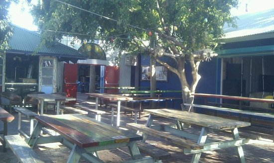 Monte's Lounge:                   Main beer garden