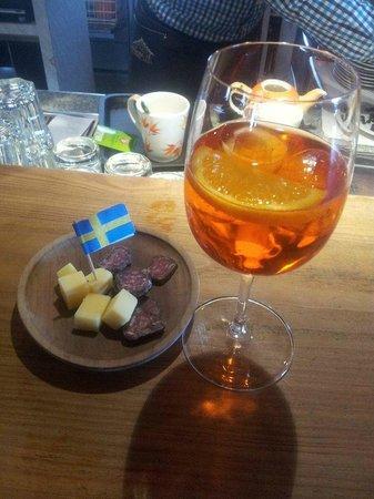 Baita Ciampac: aperitivo