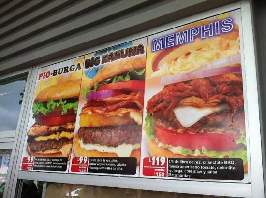 Matambritas:                   just a few of their options. All delicious