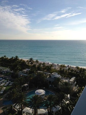 Fontainebleau Miami Beach:                   from our balcony (large pool also below)