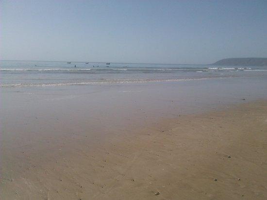 Paradis Plage Surf Yoga & Spa Resort:                                     beach outside hotel