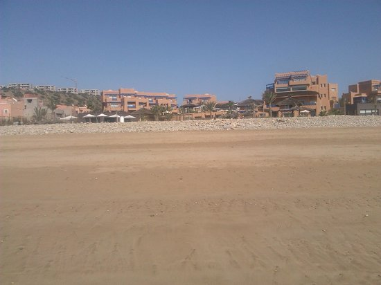 Paradis Plage Surf Yoga & Spa Resort:                                     view of hotel from beach