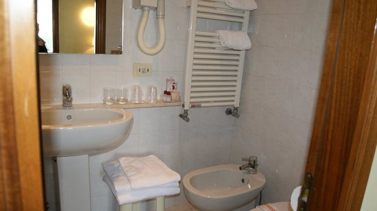 Hotel Hesperia: ванная