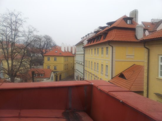 Kampa Garden:                   view from the room