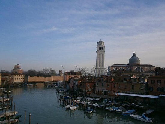 Locanda Sant'Anna :                                     view from the hotel window
