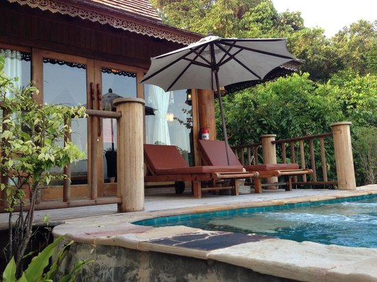 Santhiya Koh Phangan Resort & Spa:                                     Front Door To The Room