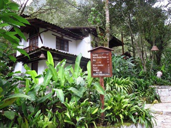 Inkaterra Machu Picchu Pueblo Hotel:                   Reception and Nature Centre