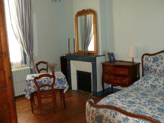 Les Roses d'Arès : La chambre Bleu Antique