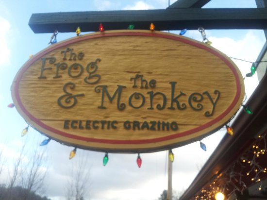 The Frog & the Monkey :                   Sign