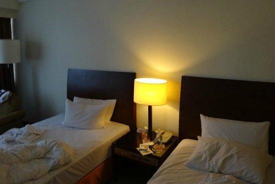 Caesar Park Taipei:                   ツインルーム ベッド