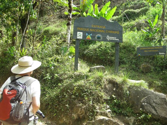 Roca Dura Cafe (Hard Rock Cafe):                                     Entrance to Chirripo National Park trail, permit required, o