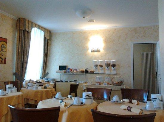 Hotel Garni Millennium : sala colazione