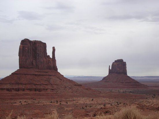 Monument Valley Navajo Tribal Park:                   The hands