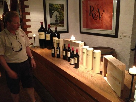 Greatest Africa Private Wine Day Tours :                   Always a full collection to be tasted.