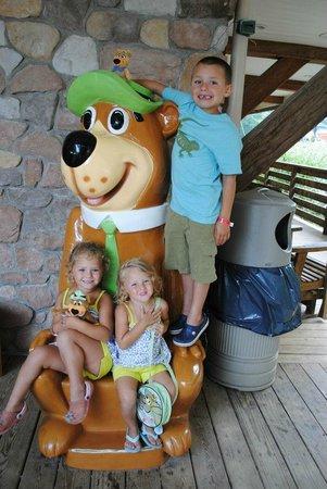 Yogi Bear's Jellystone Park Camp-Resort in Quarryville:                   Yogi chair