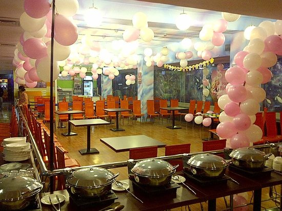 Omg Food Court & Party Hall: Barbie Theme party decoration @ FOOD COURT