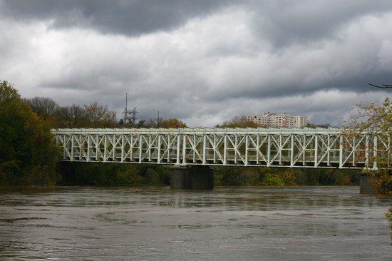 Fairmount Park:                   East Falls Bridge