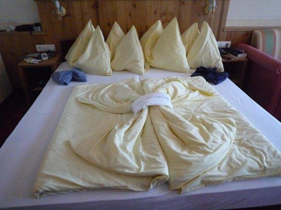 Hotel Bischofsmütze:                   Our room