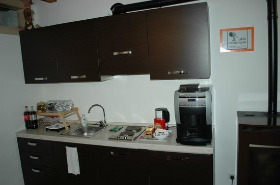 Alla Regia:                   Breakfast, coffee and snack area