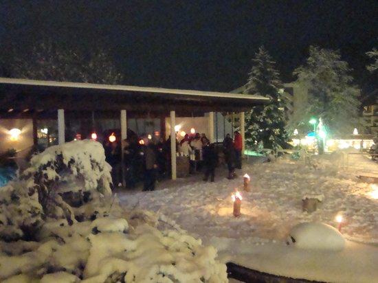 Parkhotel Schoenegg: Winter gluhwein bijeenkomst!