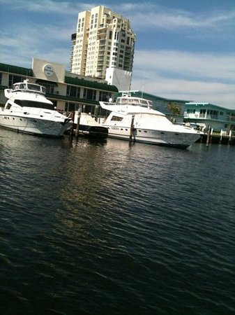 Hilton Fort Lauderdale Beach Resort:                   boats