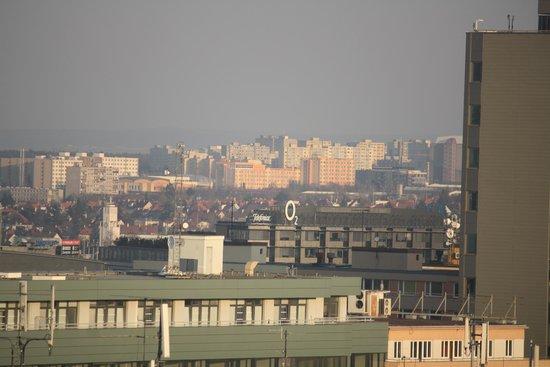 فندق بانوراما براغ: вид из окна