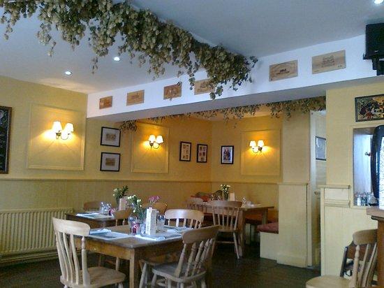 The Swan:                   Restaurant area