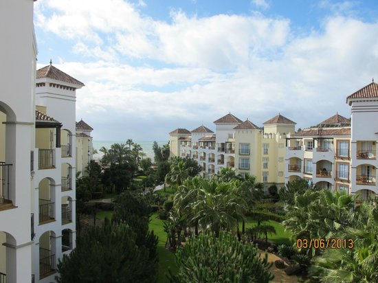 Marriott's Playa Andaluza:                   A view from my balcony