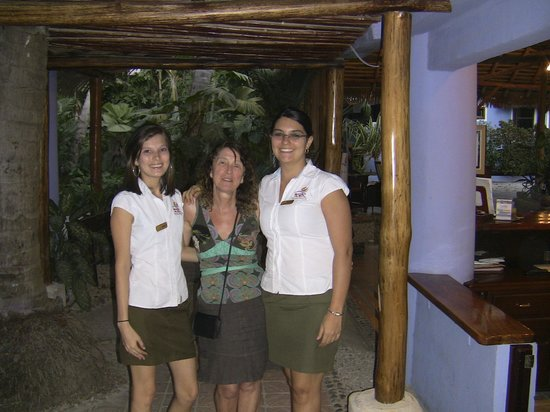 Bahia del Sol Beach Front Hotel & Suites: vriendelijk onthaal