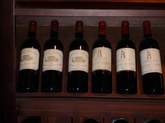 Raffles Grand Hotel d'Angkor:                   The wine cellar 2
