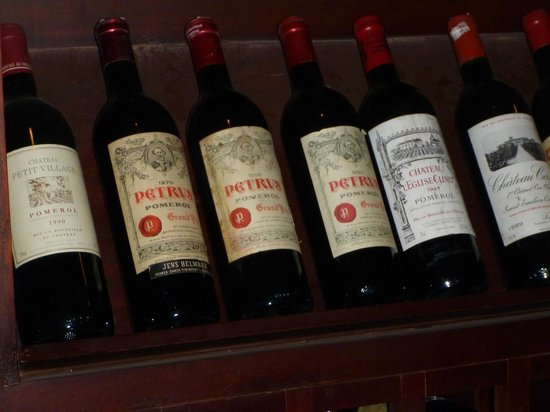 Raffles Grand Hotel d'Angkor:                   From the wine cellar