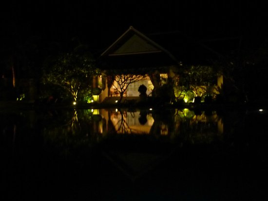 Raffles Grand Hotel d'Angkor:                   The bungalow by the pool