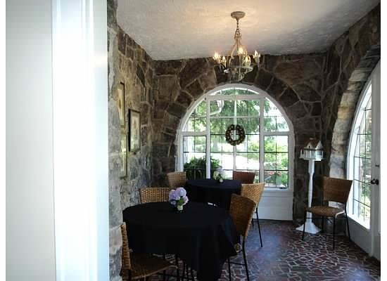 Chanticleer Inn Bed and Breakfast:                   Sunroom for breakfast