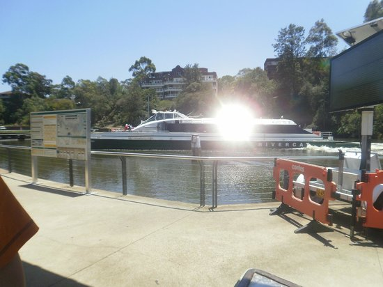 Mercure Sydney Parramatta:                                     River cat