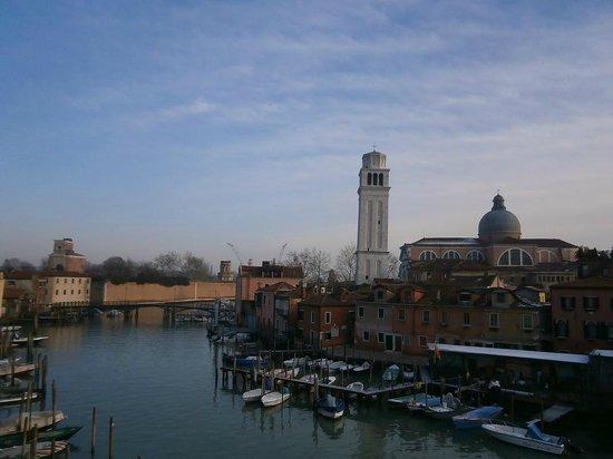 Locanda Sant'Anna :                                     from the hotel window