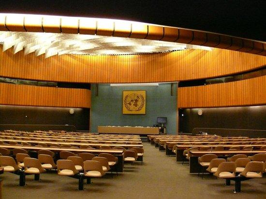 UNOG - Palais des Nations: Зал заседаний