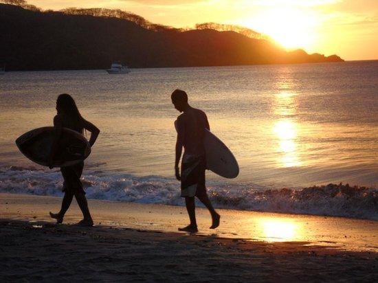 Hotel Condovac la Costa:                                     sunset Condovac