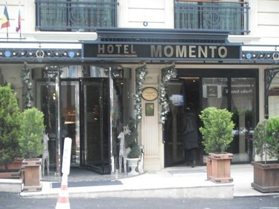 Hotel Momento:                   ingresso hotel