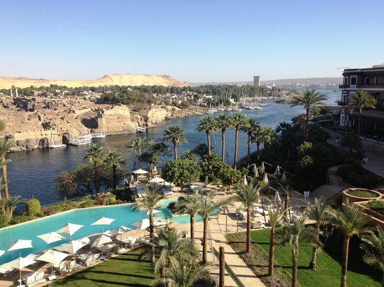 Sofitel Legend Old Cataract Aswan:                   View from room no. 2301