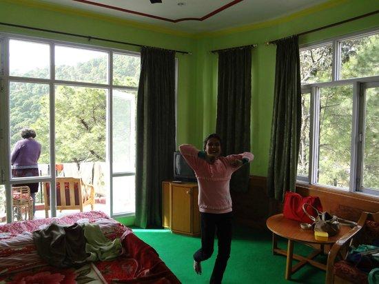 Hotel Pine Valley & Restaurant:                   the room