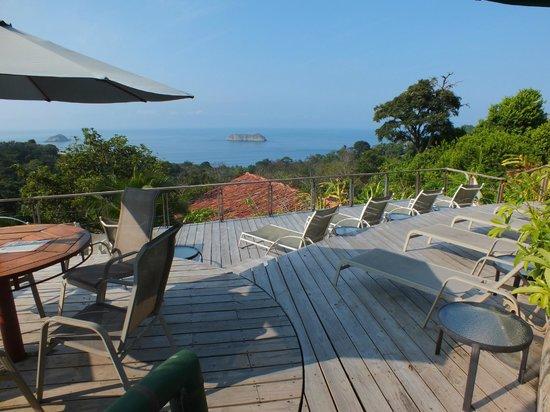 Hotel Si Como No:                                     pool deck